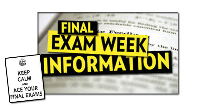 FORMAL EXAM SCHEDULE FOR JUNE 2018