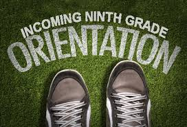 GRADE 9 ORIENTATION – Tuesday, September 5, 2017