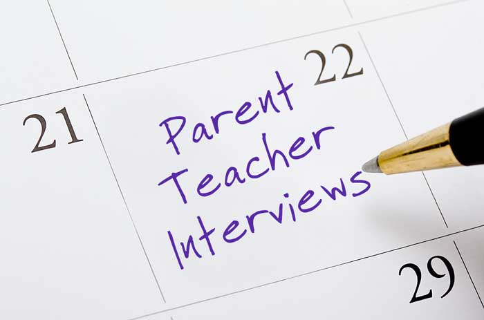 PARENT-TEACHER INTERVIEWS – Thursday, November 16, 2017