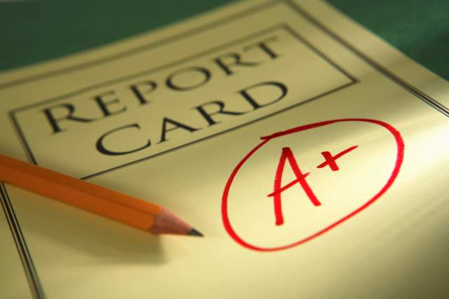 REPORT CARD DISTRIBUTION – Friday, November 10, 2017