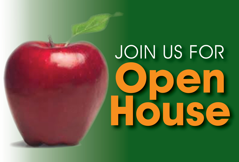COMPREHENSIVE OPEN HOUSE – Thursday, November 7, 2019