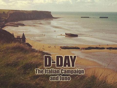 G:DAY: THE ITALIAN CAMPAIGN & JUNO TRIP
