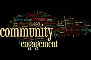 LAST CALL TO ATTEND COMMUNITY ENGAGEMENT EVENT
