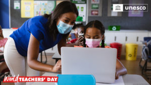 Today is World Teachers' Day!